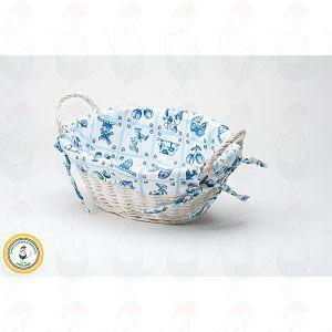 Bread basket Delft Blue Oval