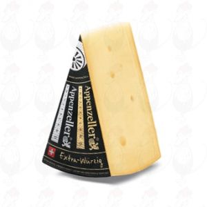 Appenzeller Black - Extra | Entire cheese 6.8 kilos / 14.96 lbs