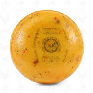 Gouda Pund Farmers Ost tomat/oliven | 400 g / 0.88 pund