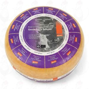 Extra Matured Gouda Biodynamic cheese - Demeter | Entire cheese 11 kilo / 24.2 lbs