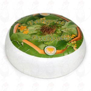 Bukkehorns Gedeost | Premium kvalitet| Hel ost 4,5 kilo