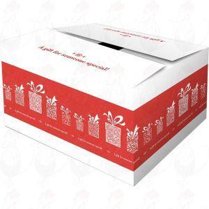 Forsendelsesboks - Gaveboks Overraskelse Rød