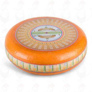 Smuldreost | Premium kvalitet - Gouda | Premium kvalitet | En hel ost 10 kilo