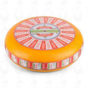 Mellemlagret Gouda Ost | Premium kvalitet | En hel ost 12 kilo