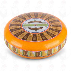 Ekstralagret Gouda Ost | Premium kvalitet | En hel ost 12 kilo