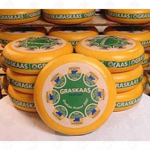 Græs Ost |  hel ost 12 kilo
