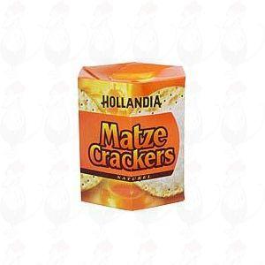 Hollandia Matze Crackers Naturel 16 stuks