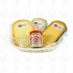 Hollandse kaas en Mosterd
