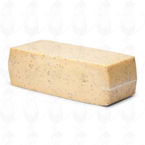Mellemlagret Gouda Kommenost | Premium kvalitet Blok | 3,5 Kilo
