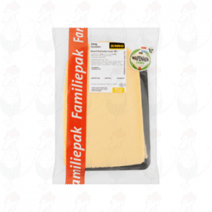 Sliced cheese Wapenaer Young 48+   350 grams in slices