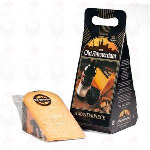 Gammel Amsterdam ost i gaveæske - +/- 1 kilo - 2,2 pund ost