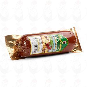 Røget Gouda Ost | Premium kvalitet i Pølseform | 500 gram