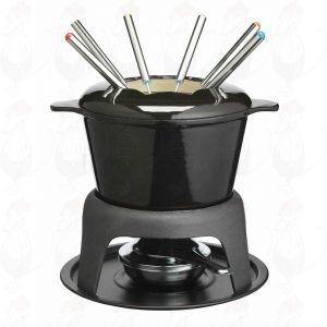 Fondue Black - Cast Iron | Masterclass