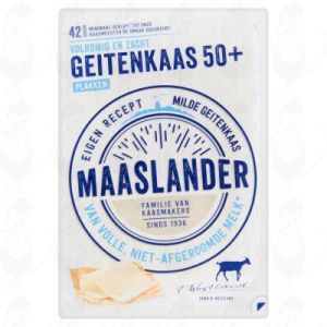 Sliced Maaslander Goats Cheese 50+ | 140 grams in slices