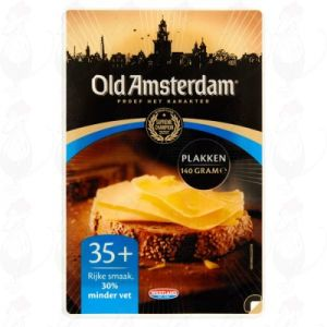 Sliced cheese Old Amsterdam 35+ | 140 grams in slices