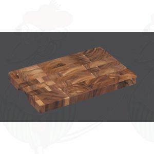 Snijblok kopshout 40 x 25 x 3 cm - Acaciahout