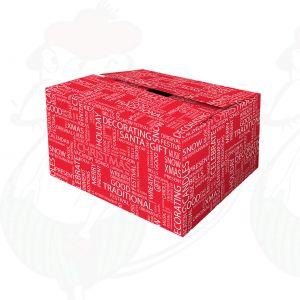 Forsendelsesboks Juleønske Rød