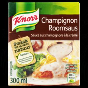 Knorr Saus Champignon Roomsaus 300ml