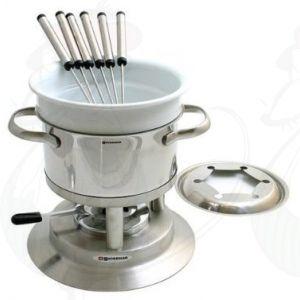 Swissmar Arosa Stainless Steel fondue-set
