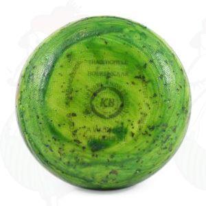 Gouda Pund Farmers Ost Grøn Pesto | 400 g / 0.88 pund