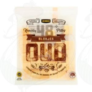 Cheese cubes | Gouda Old | 200g