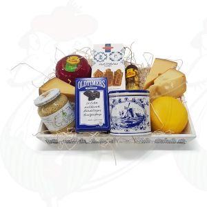 Crate of Dutch products