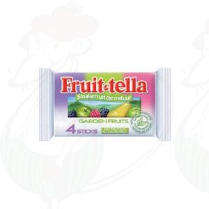 Fruittella Garden fruits 4 sticks x 10 stuks