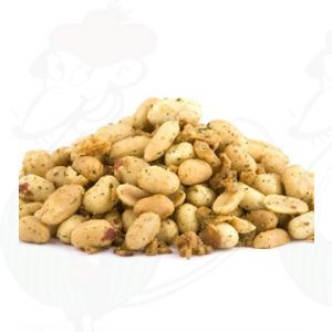 Herb peanuts with onions and garlic   500 gr