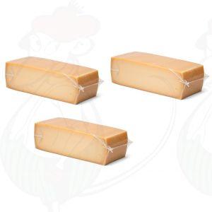 3 X Lagret Gouda Blok | 3,5 Kilo