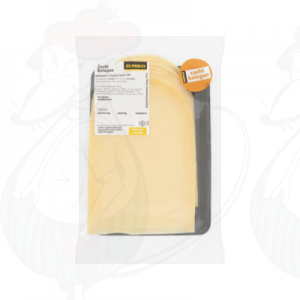 Sliced Gouda cheese soft matured 48+ | 200 grams in slices