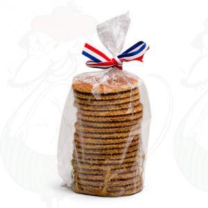 22 Handmade Gouda wafers, extra long!