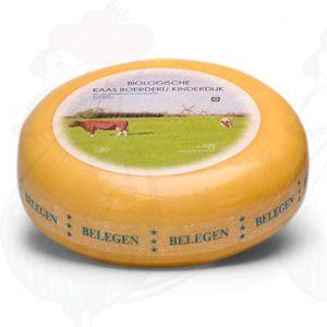 Lagret Økologisk Ost | Premium kvalitet | En hel ost 5,4 kilo