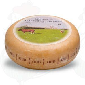 Gammel Økologisk Ost | Premium kvalitet | En hel ost 4,5 kilo
