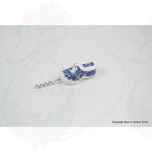 Corkscrew Delft Blue Clog