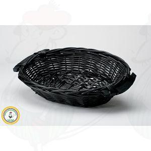 Ostekurv Sort 38x28x8