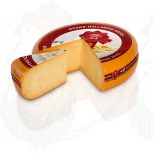 Old North Holland Gouda cheese with the Red Seal