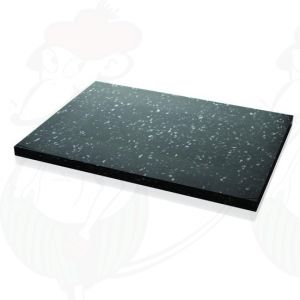 Cheese Cutting board Professional Plastic Black / White 450x330x20 mm