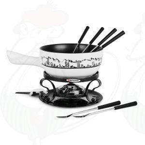 Swissmar Heidi - Cheese fondue set