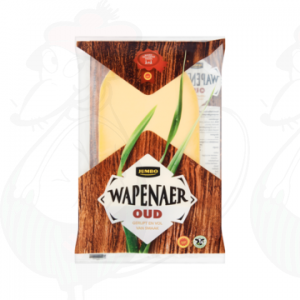 Sliced cheese Wapenaer Old 48+ | 150 grams in slices